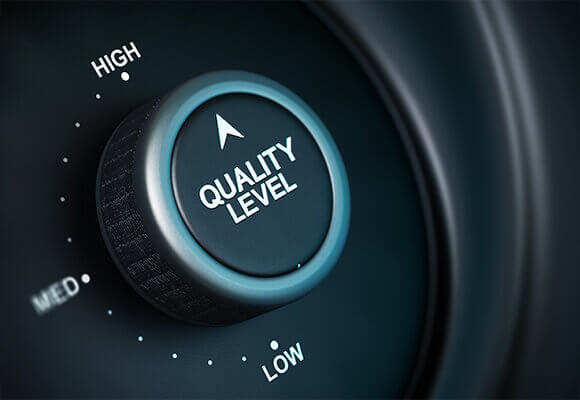 Extensive in-house quality testing